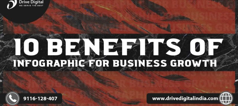 10 infographic benefits for business growth